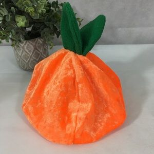 Other - Halloween pumpkin hat/costume for baby or toddler